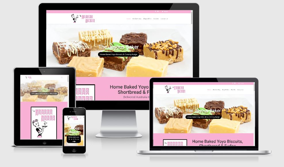 the joyous baker Website Design Boronia, Victoria