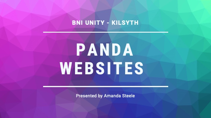 Panda Websites Presentation