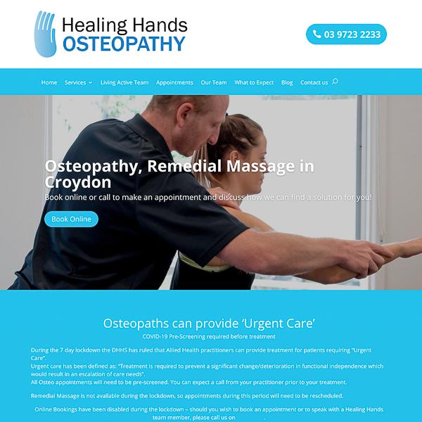 Healing Hands Osteopath